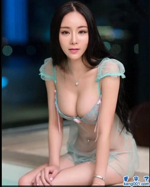 明星蕾丝内衣秀全透明图_kanoo1.com第1张