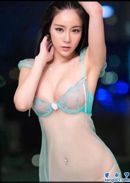 明星蕾丝内衣秀全透明图_kanoo1.com第4张