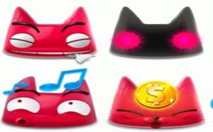 可爱QQ表情:Meon可爱的粉色猫QQ表情下载