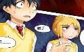 吃果果大作战动漫邪恶少女漫画第3章:英雄救美