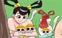 日本少女h邪恶漫画:仙女下凡找乐子