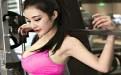翘臀后进撸管图:华东师大校花性感健身秀身材