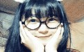 卖萌眼镜美女诱惑gif动态图片 戴眼镜的美女挑逗gif动态图