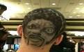 恶搞发型你一定没有看过人脸发型!