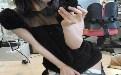 美腿MM自拍新高度!好可爱的黑色丝袜