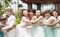 柳岩参加包贝尔婚礼被整蛊伴娘引热议