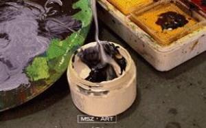 美术生和美术相关的搞笑图片