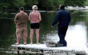 钓鱼搞笑图片笑死人 钓鱼内涵图片大全