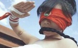 现实版女盲僧美女图片