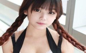 日本写真女星童颜巨乳 小月儿萝莉女仆