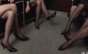 空姐制服美腿加黑丝福利图片
