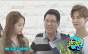 小鲜肉鹿晗和女朋友打游戏