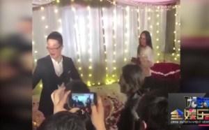 现场视频马苏旁起哄 姚笛被成功求婚视频